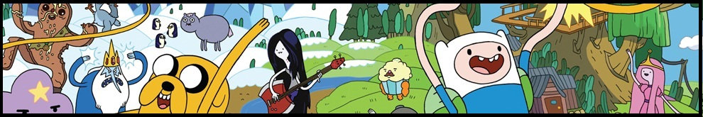 It's Adventure Time