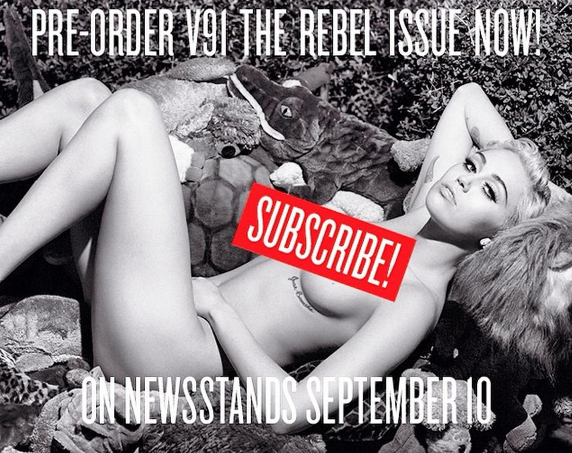 Get the newest V Magazine