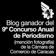 Award/Premio: Cámara de Comercio de Caracas