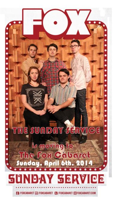THE SUNDAY SERVICE IMPROV