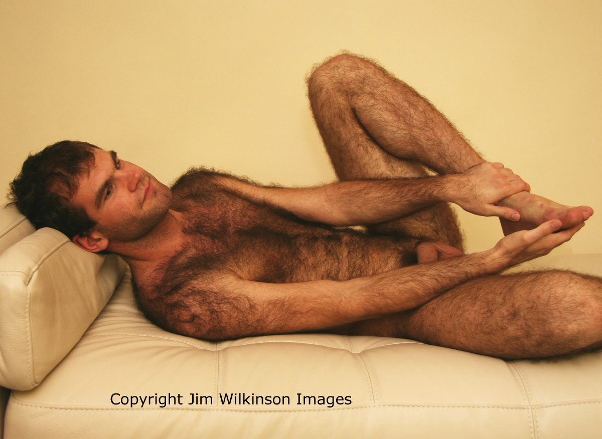 Hairy Handsome Nude Men