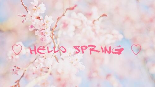 hello spring tumblr wwwpixsharkcom images galleries
