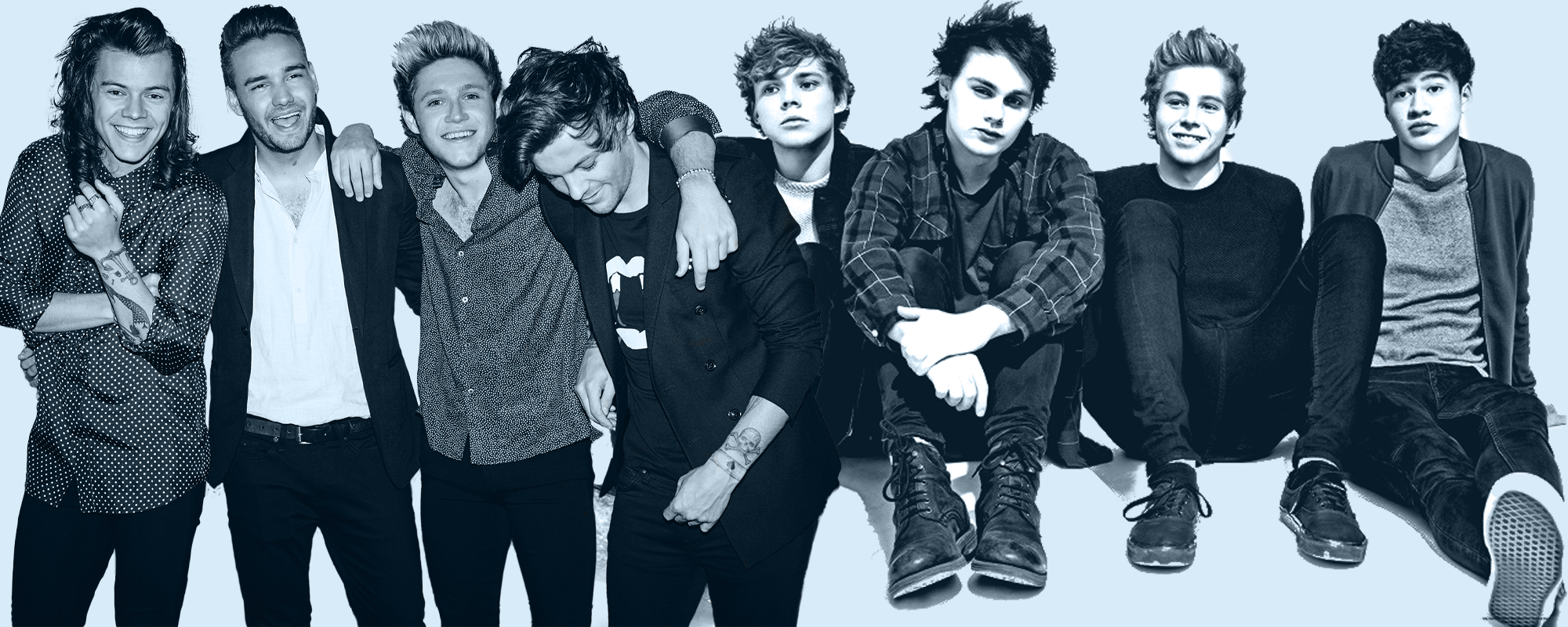 1D And 5SOS Imagines