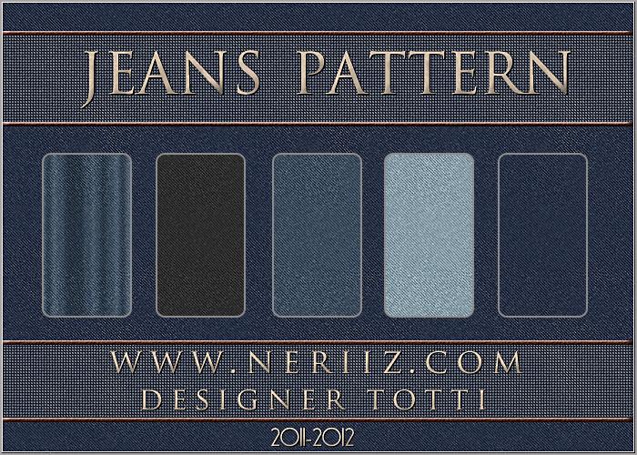 تحميل باترن جينز للتصميم 2013