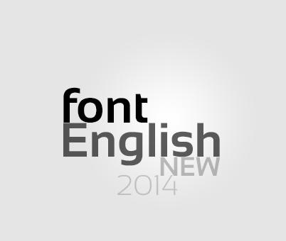 مجموعة خطوط انجليزية جديدة 2014