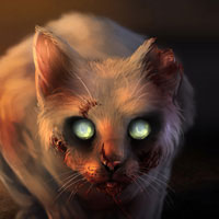 Photoshop cs6 Lesson:Zombie Cat