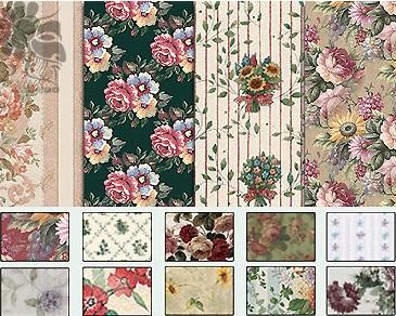 2| مجموعة باترن فوتوشوب ورود وزهور جميلة
