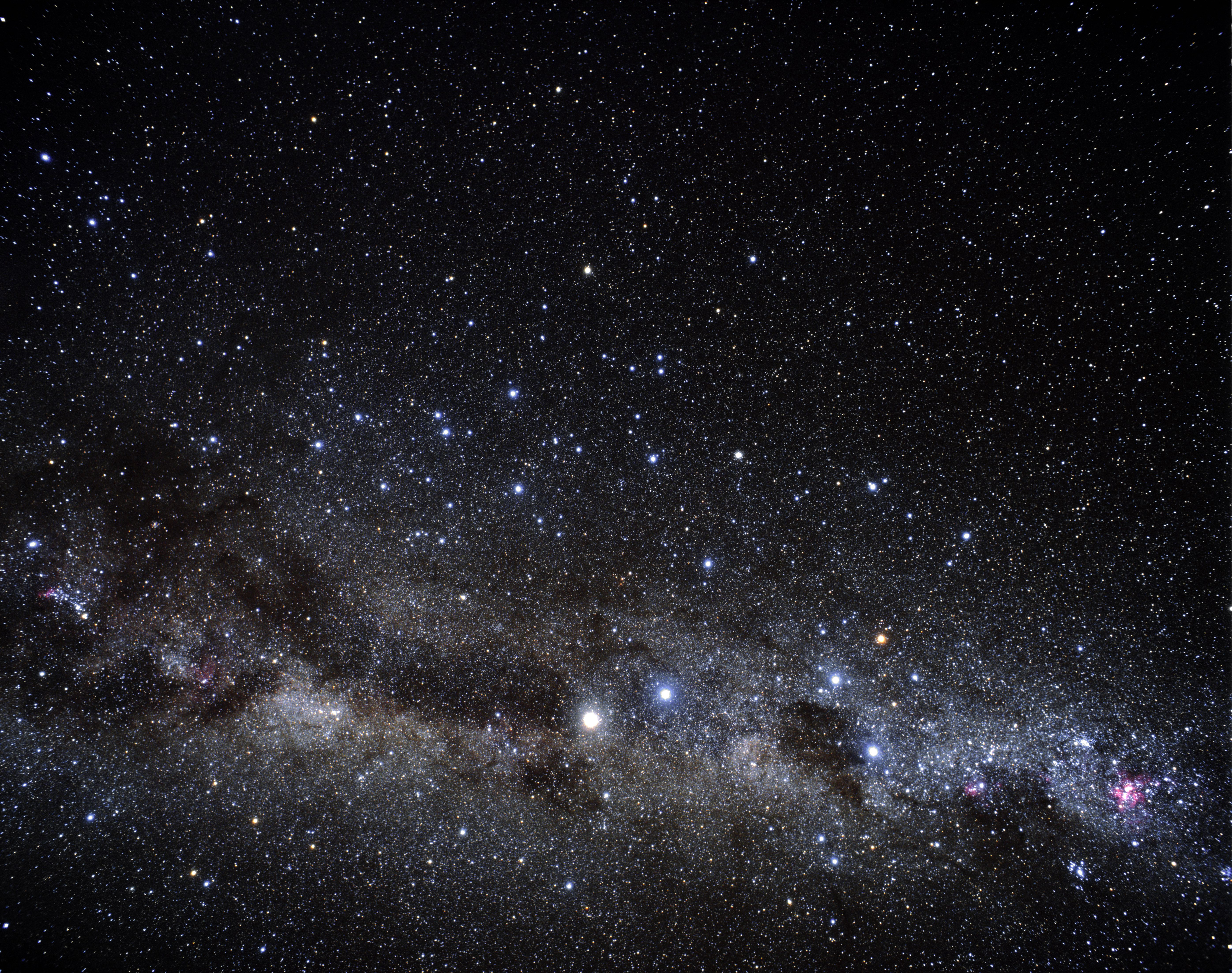 different galaxies in space - HD