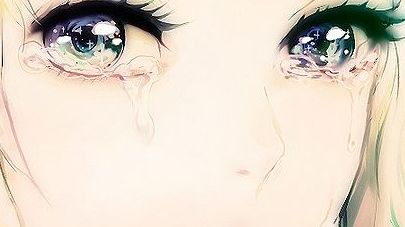 Anime Characters Crying : Characters crying tumblr