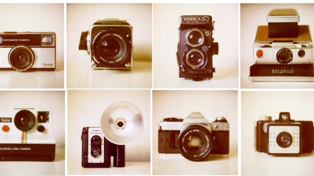 Collects Vintage Cameras
