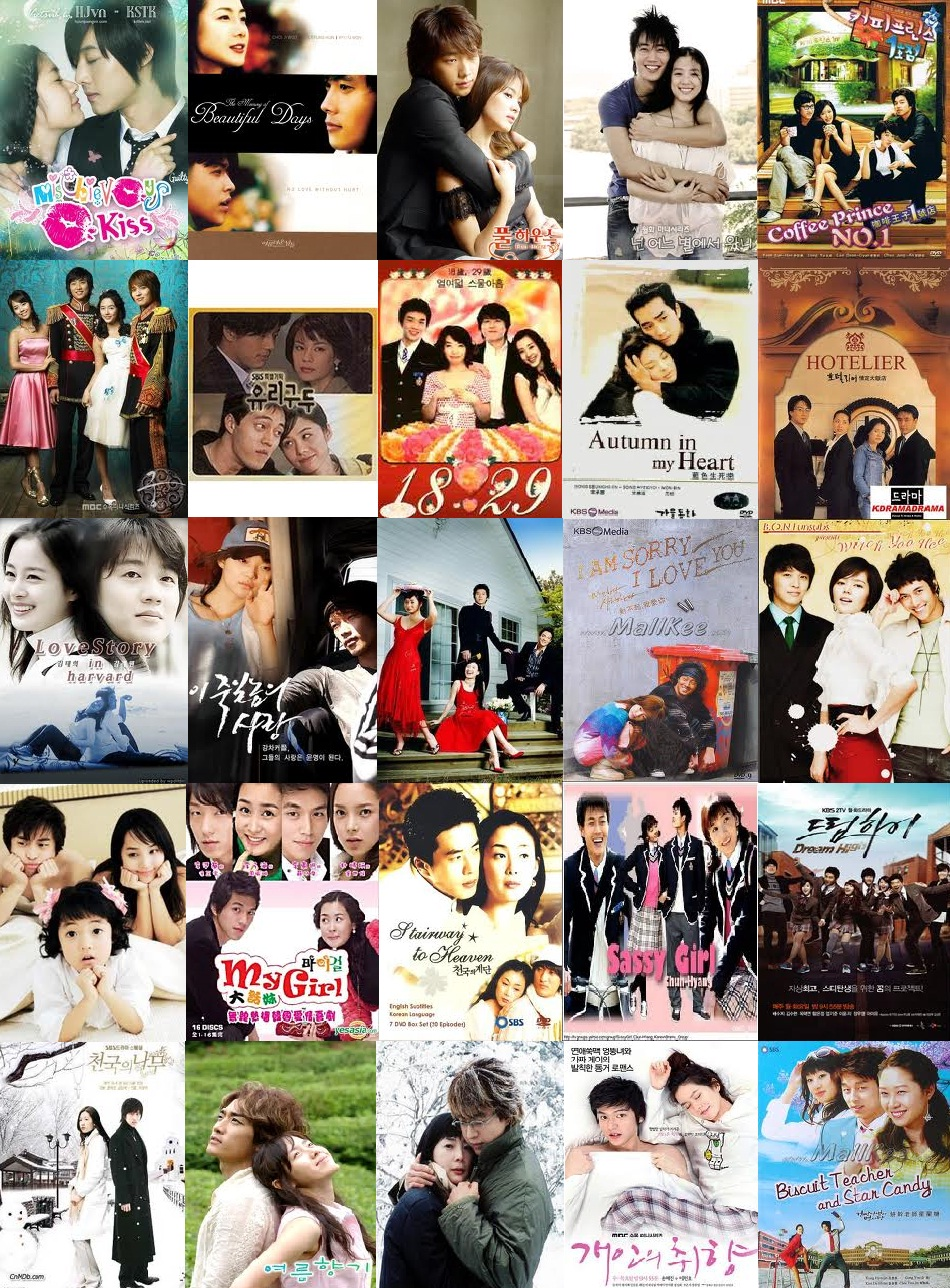 Dears journey on korean dramas 2002 2016 how many have you watched mightylinksfo