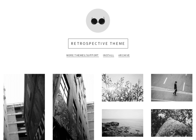 Olle ota themes free tumblr themes Black and white themes for tumblr