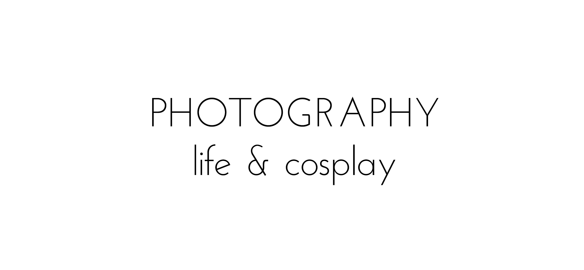 Cosplay and photography