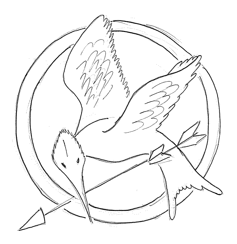 Hunger games coloring pages online - Hunger Games Coloring Pages Online