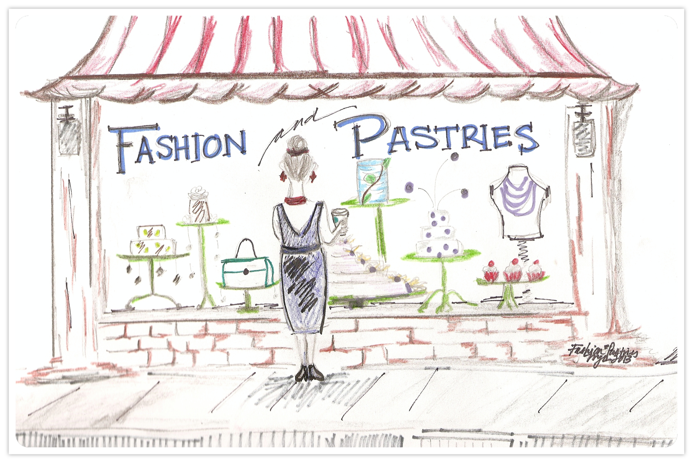Fashion and Pastries