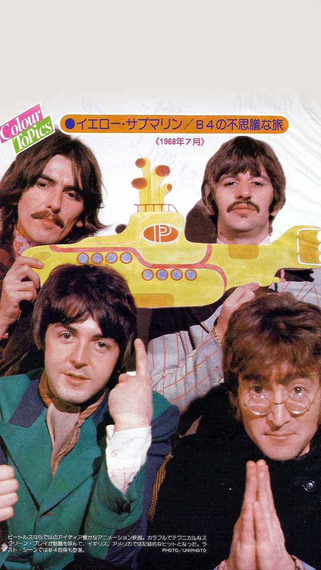 The Magical Mystery Tour Simple Lockscreens By Yesterdayicons