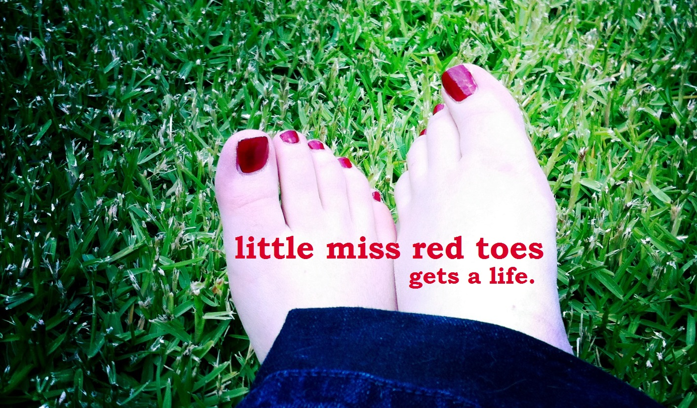 Little Miss Red Toes