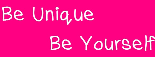 Be unique be yourself