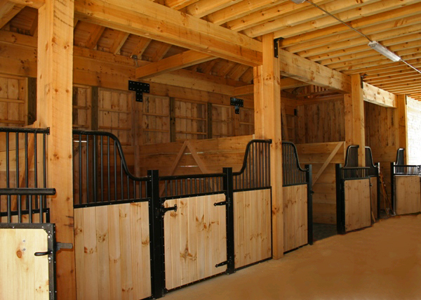 Nature Picture Selection: Horse Barn