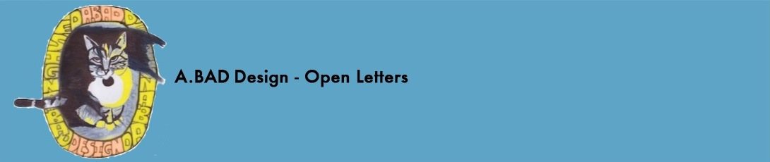 A.BAD Design - Open Letters