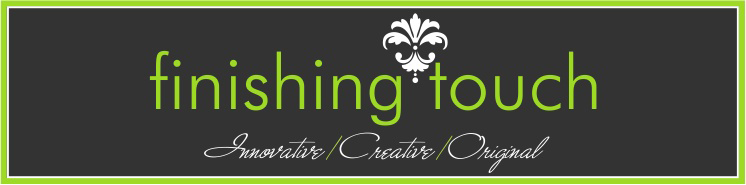 Finishing Touch Consultants - innovative, creative, original wedding consultants.