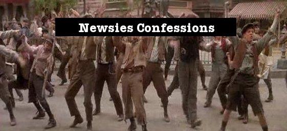 Newsies Confessions
