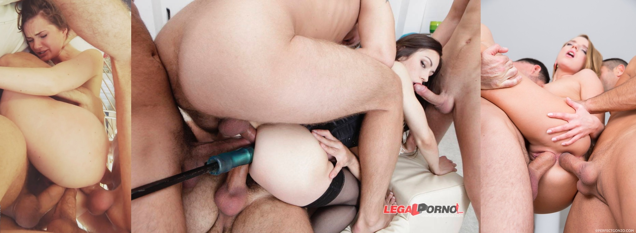 Xxx multiple deepthroat gangbang