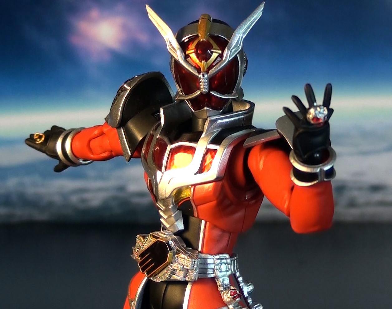Kamen Rider Wizard Red me as Kamen Rider Wizard
