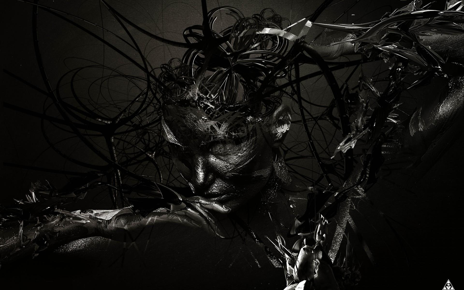 интересным темные черные картинки на рабочий стол вышел