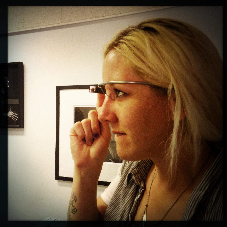 KCRW's Google Glass