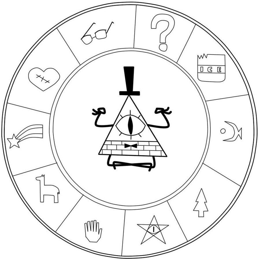 ask human bill cipher