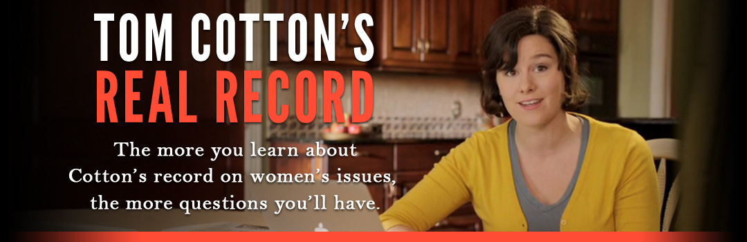 The Real Cotton Record - The more you learn about Tom Cotton's record, the more questions you'll have.