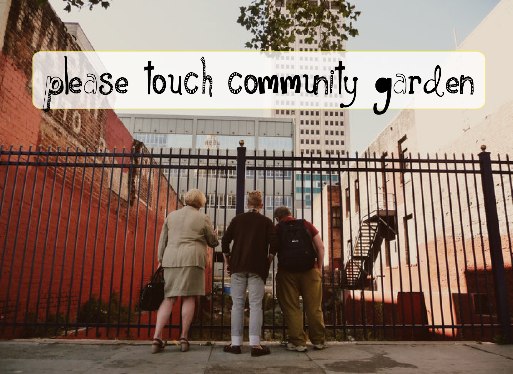 Please Touch Community Garden