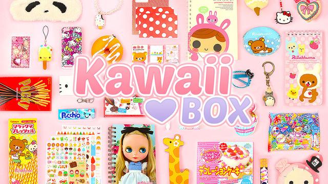 Kawaiibox Com  E D A The Cutest Subscription Box