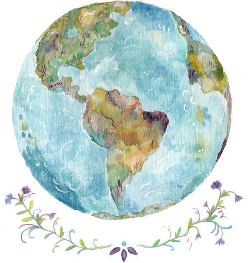 Globetrotter Globe Drawing Tumblr