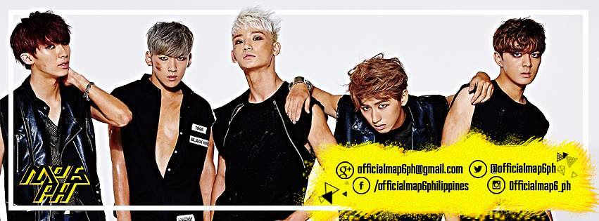 Map6 Profile.Official Map6 Philippines Members Profile