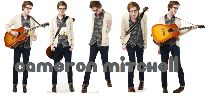 Cameron Mitchell: The Glee Project Nerd | Love Spasms