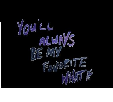 ~ MyFavouriteWhatIf ~