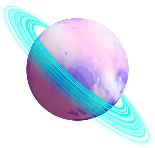 cute planets transparent - photo #9