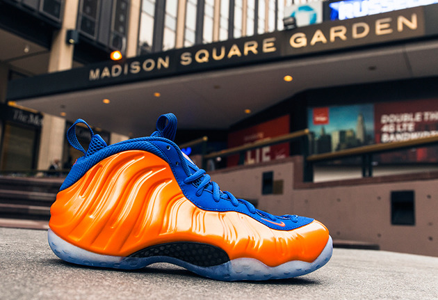 brand new a2646 2fc40 Nike foamposites Knicks for sale online