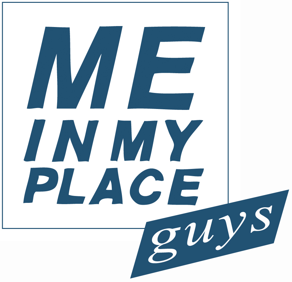me in my place guys Logo