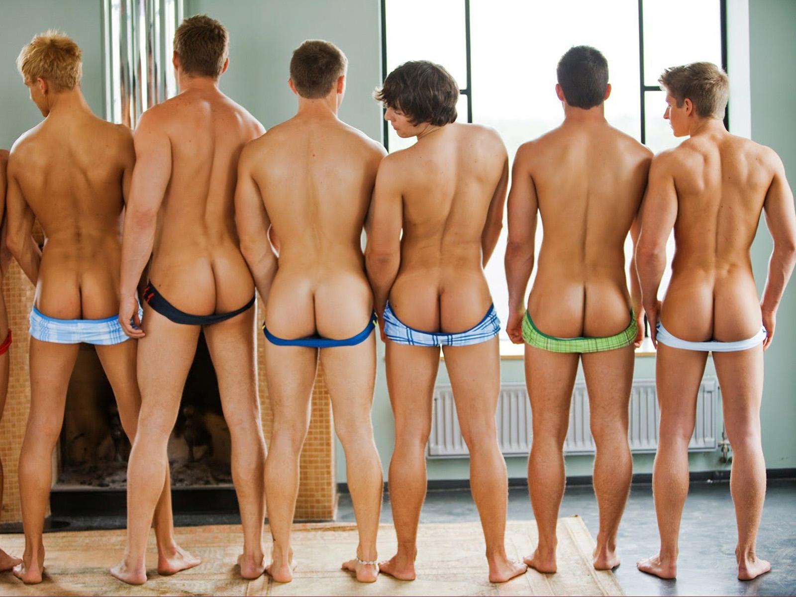 Самые сексуальные попки парней