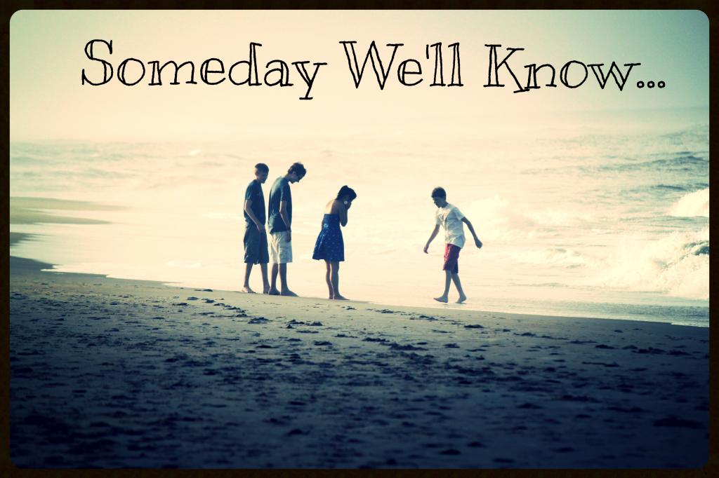 Someday We'll Know...