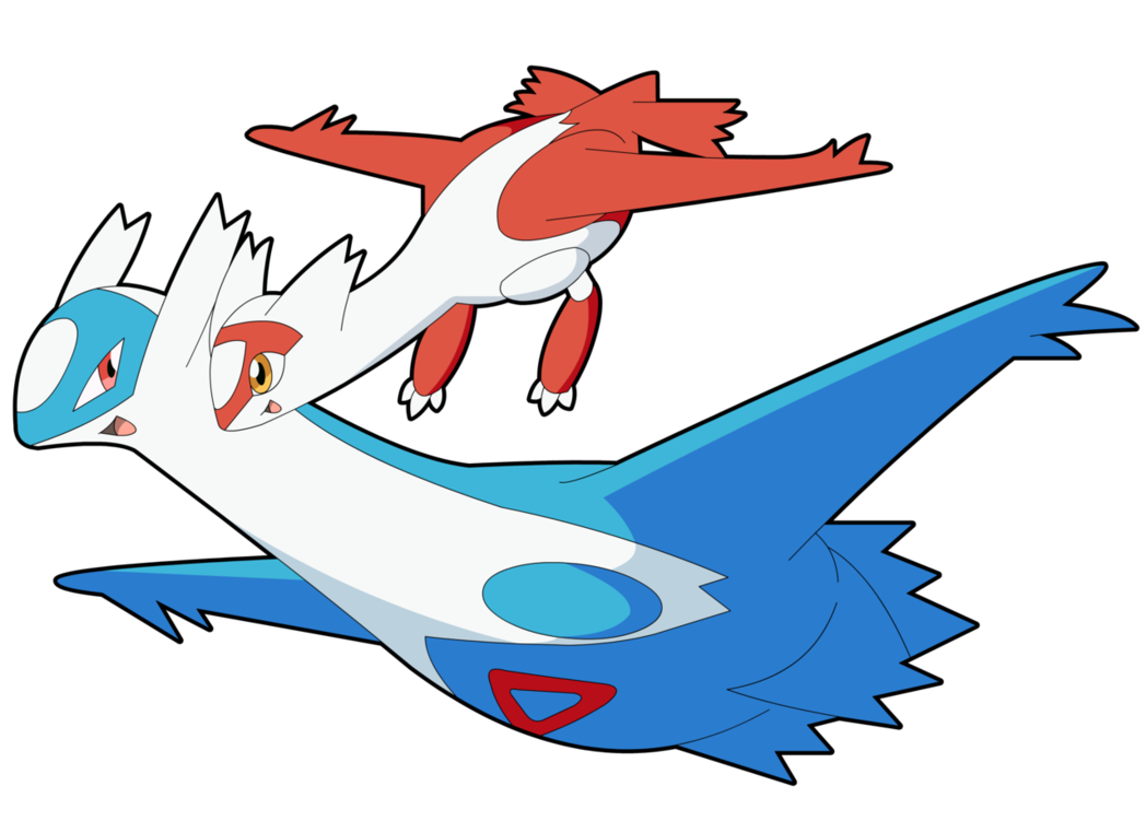 latios and latias kiss - photo #5