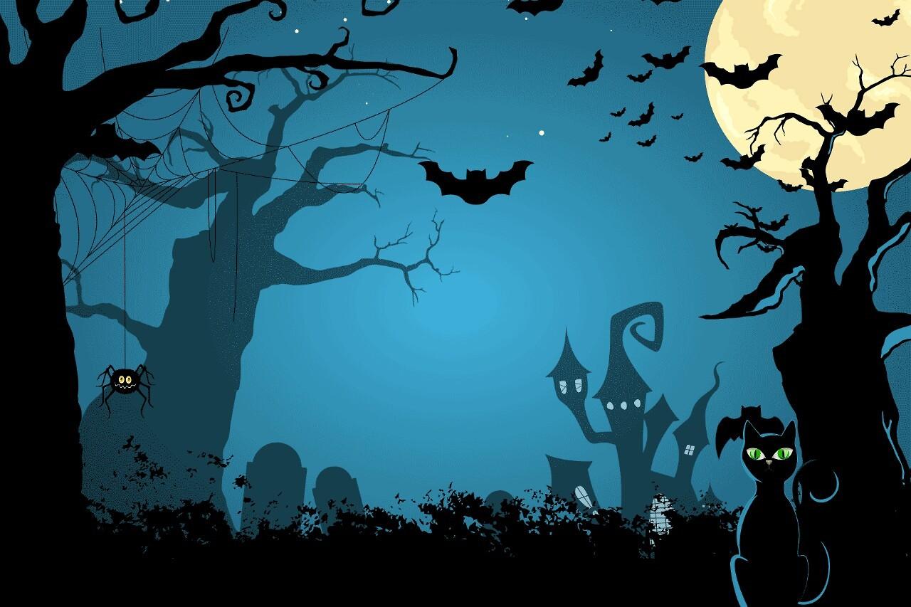 animated halloween screensavers and wallpaper - photo #7