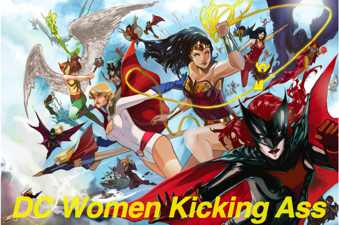 DC Women Kicking Ass