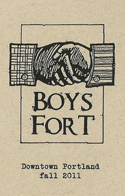 Boys Fort: An urban, male-centric, retail installa