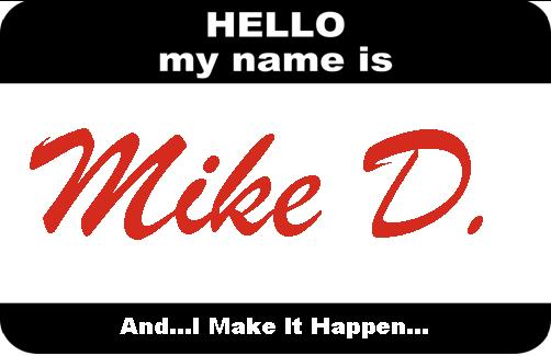 Today in Mike D. News...