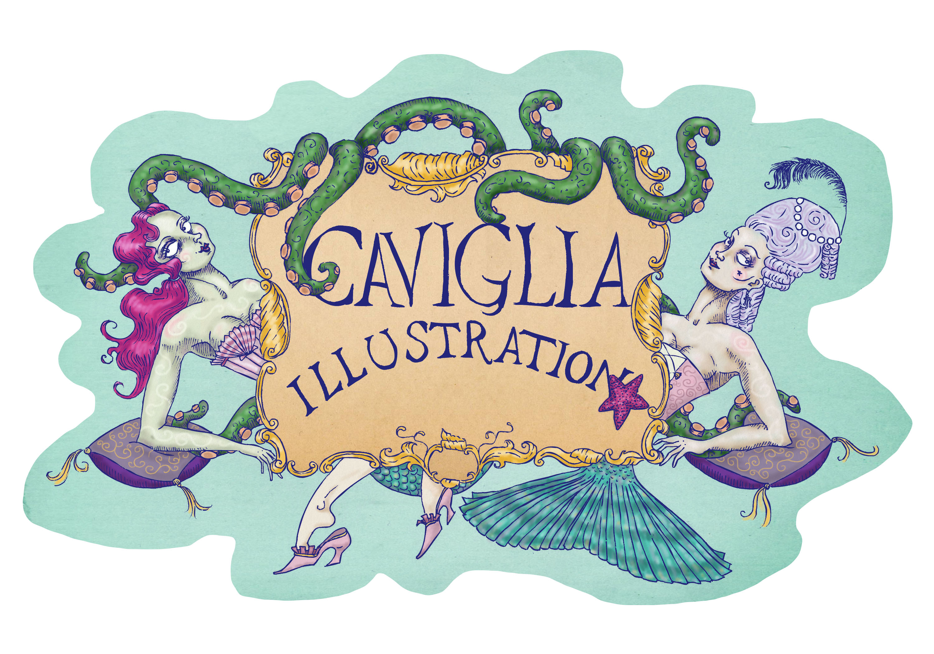 Caviglia Illustration