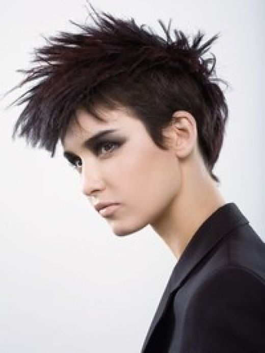 Punk Hairstyles for Women with Short Hair